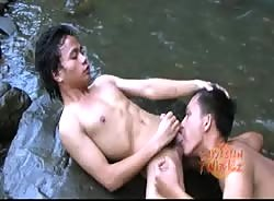 Outdoor Asian Orgy (Part 1)