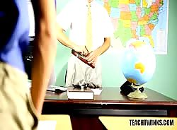 Student and Teacher Compare Cock Size