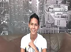 Teener Latino Twink Exposes His Fine And Gorgeous Body On His Interview